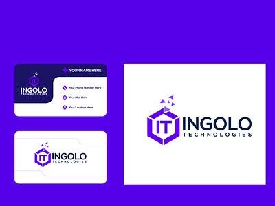 Ingolo It logo logo design illustration design ui adobe illustrator company logo brand identity minimalist logo maker logo
