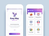 Easy Way App (Sneak Peek)