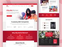 City Alo Women Website Design