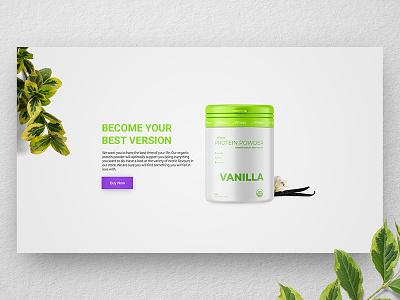 [ UI / UX ] Wheys - CTA dark fitness call to action cta interface ux ui concept webdesign web design landing page