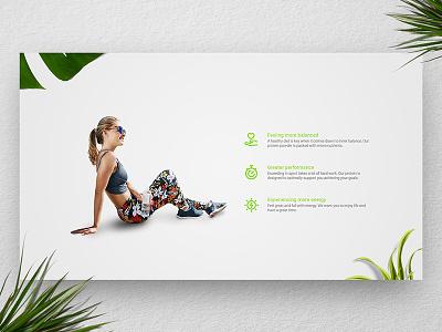 [ UI / UX ] Wheys - Benefits landing page web design webdesign concept ui ux interface testimonials testimonial fitness light