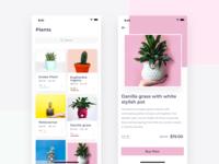 Plants Selling App - Light Version