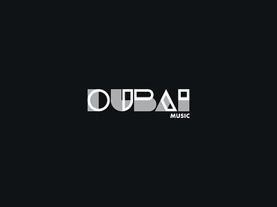 Dubai Music Brand Identity minimal logodesign logotype flat illustration typography vector branding logo design