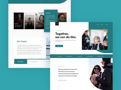 University of New England - Strategical Plan education website education product design cms app website web tech ux ui design