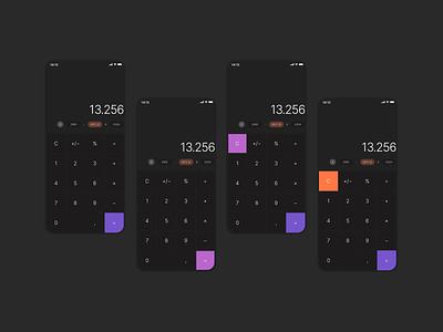 Daily UI Challenge #04 - Calculator app cms web website tech product design design ux ui dailyui dailyui 004