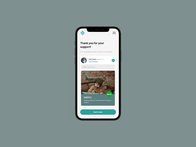 Fund Sustain Progressive Web App progressive web app pwa app donate charity react web website tech design product design ux ui