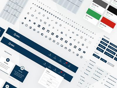 SSCL myHub Design System web web app app website tech product design design ux ui