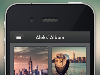 Album Photos album iphone app