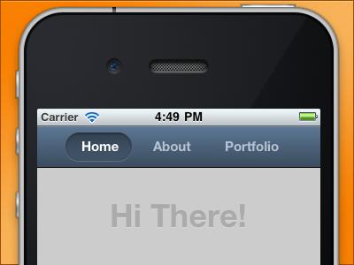 Hi...! orange mobile website