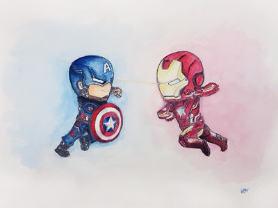 #TeamCap or #TeamIronMan?