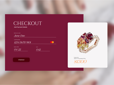 Daily UI :: 002 uiuxdesign uiux web design shop landing page landing page shopping checkout shopping card checkout checkout page checkout ui design uidesign ui daily ui dailyuichallenge dailyui