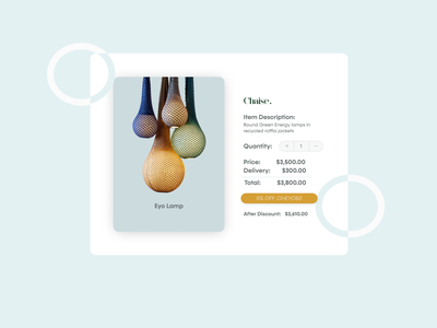 Daily UI :: 004 landing page shopping ui design web design uiux ui daily ui order calculator calculator dailyui