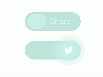 Daily UI :: 010 010 dailyui 010 social share social twitter share uidesign ui dailyui