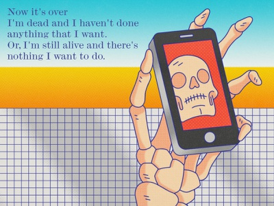 They Might Be Giants - Dead band music lyrics procrastination cell phone phone skull dead they might be giants