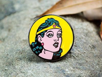 """Suffering sappho! A Wonder Woman Pin"""