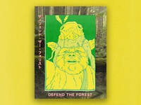 """Defend the forest"""