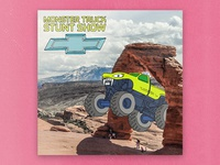Arches National Park Monster Truck Stunt Show