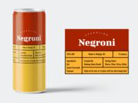Sparkling Negroni - Weekly Warmup 19