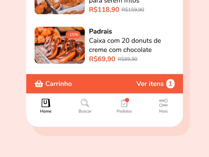 Buyapp Tabbar tabbar icons ui orange app mobile app mobile