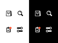 Buyapp Tabbar Icons flat vector design icons icon app mobile