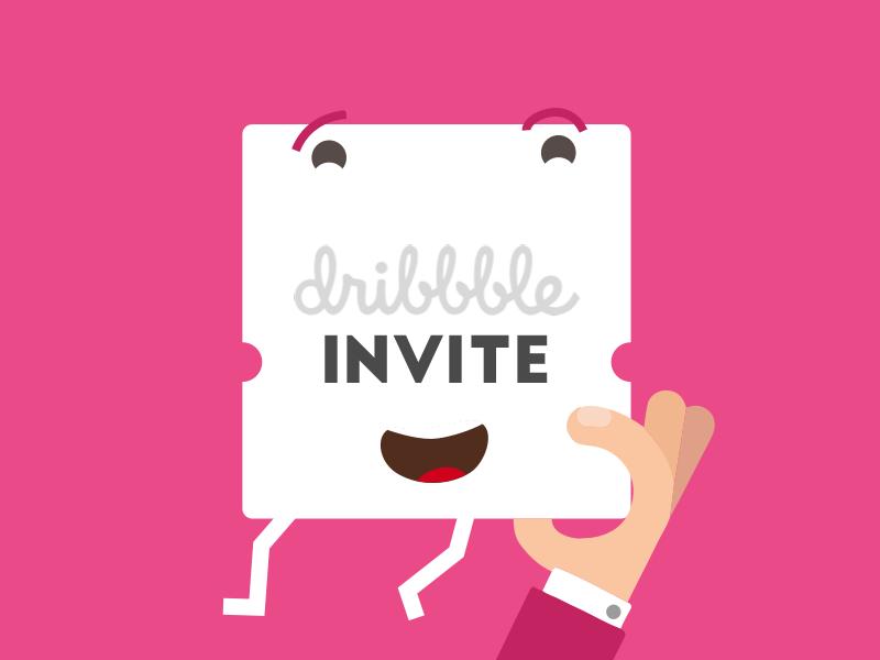Dribbble Draft Day Invite! (1) ui ticket invite dribbble invite dribbble day draft boarding