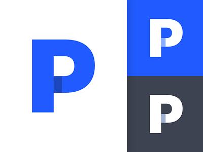 Phurshell Logo Design   Concept simple design logo design typography type p logo letters letter font phurshell