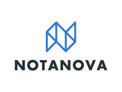NotaNova Branding typography phurshell notanova n logo identity icon branding
