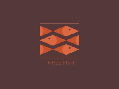 Three Fish - 100 Logos // 100 Days - #25