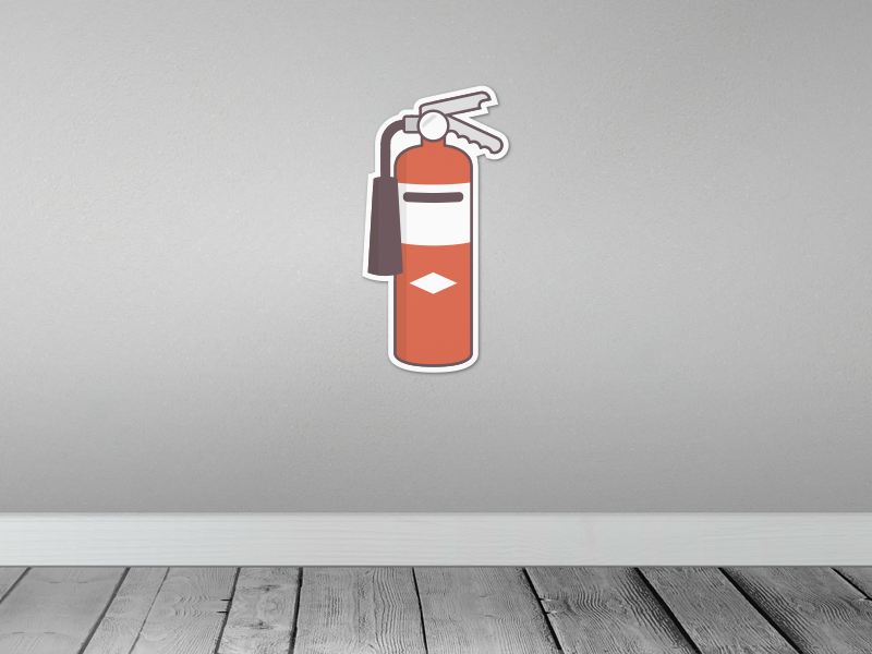 Fire Extinguisher Sticker - Sticker Mule Contest fire extinguisher yo sticker wall mural fathead illustration design sticker mule