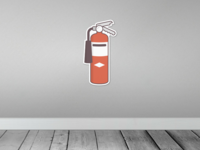 Fire Extinguisher Sticker - Sticker Mule Contest