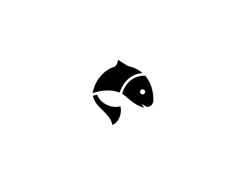jumping fish by jon burton dribbble