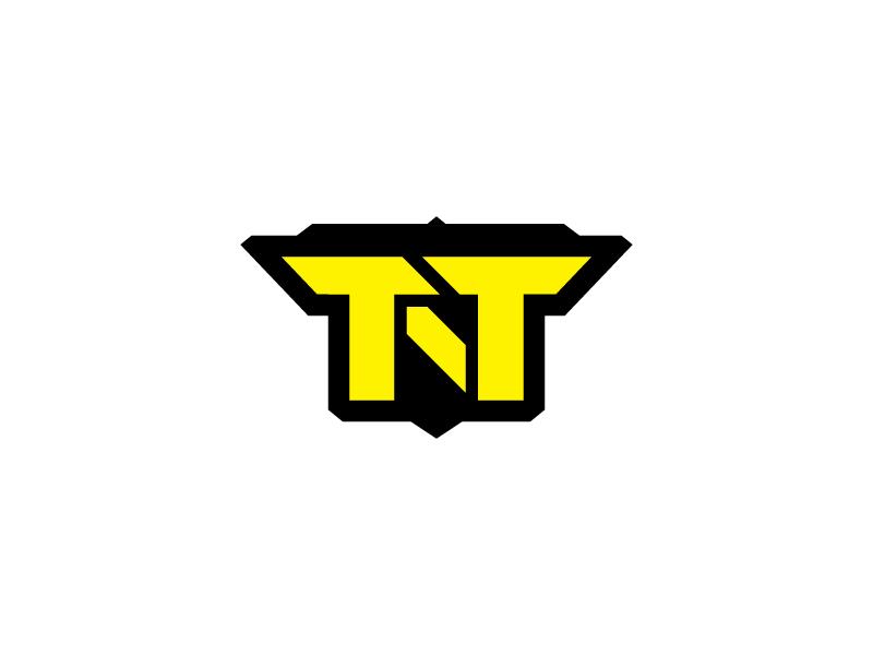 TNT Trailer Sales trailer logo military yellow arts burton badge tnt