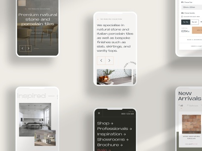 eCommerce — Mobile Screens ux creative  design ui design ui work in progress mobile ecommerce website web design