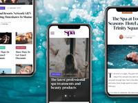 Spa Magazine (Mobile Concepts)