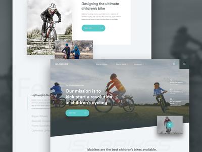 Bike Homepage (Work in Progress)
