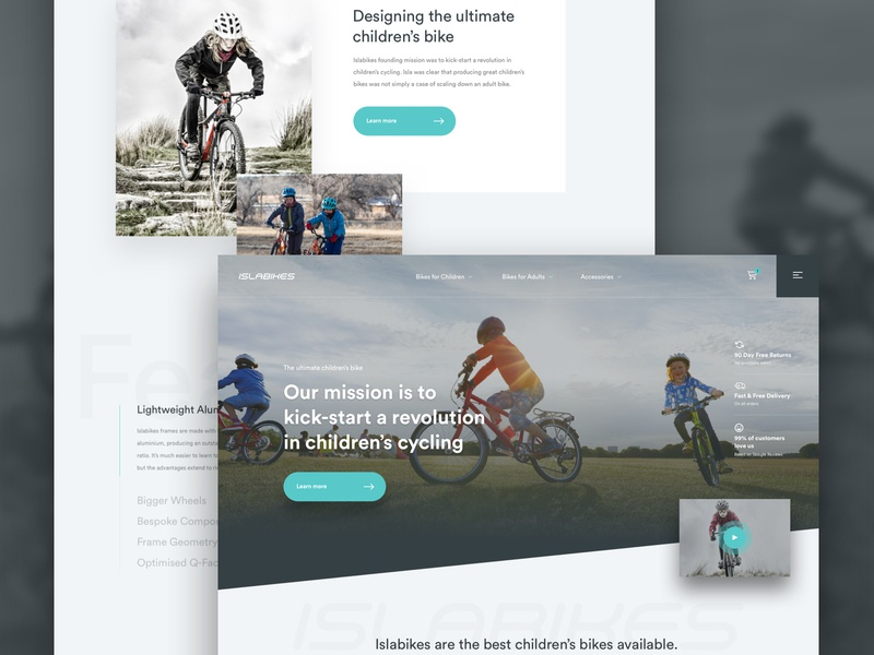 Bike Homepage (Work in Progress) web design ecommerce concept ux website creative  design sketch app agency web ui design ui design work in progress