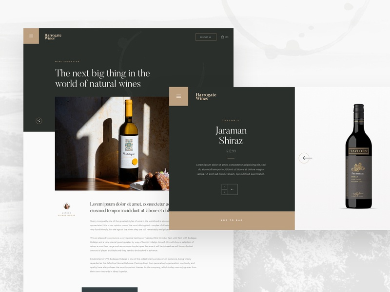 Wine Company — Details sketch app creative  design website ux agency web ui design ui design work in progress