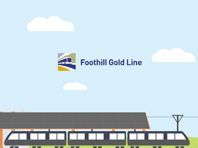 Foothill Gold Line Infographic marketing concepts metro graphic design design graphic infographic