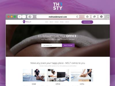 Melt On Demand responsive mobile bootstrap graphic design design graphic ecommerce website design web development