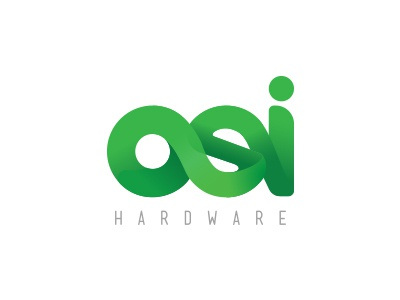 OSI Hardware logo design concept logo design typography logotype logo color branding design branding