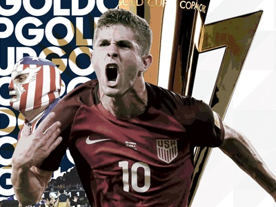 """Gold Cup """"This Is Ours"""" Campaign gold cup el tri mexico usmnt futbol concacaf soccer graphic development campaigns marketing agency marketing graphic design campaign design campaign design"""