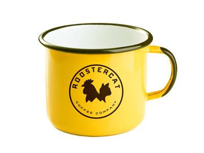 Roostercat Camp Mug