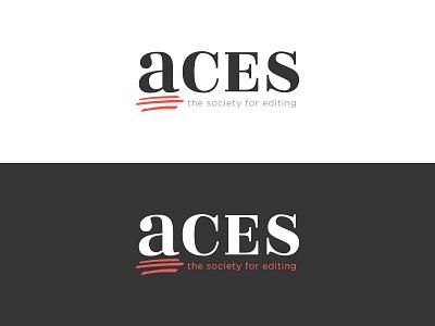 ACES craftedbyclover logo branding