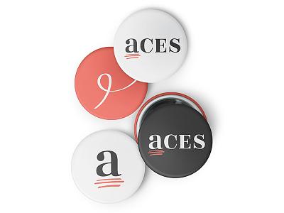ACES mockups craftedbyclover logo branding