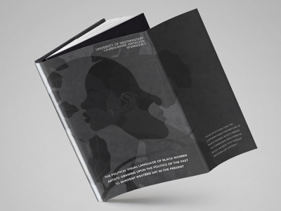 Dissertation Dust Cover Design blackandwhite print affinitydesigner university dissertation graphic design art creative design black illustration