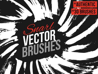 Snarl Vector Brushes