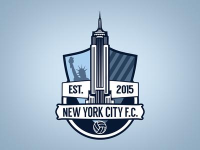 New York City FC Crest Concept