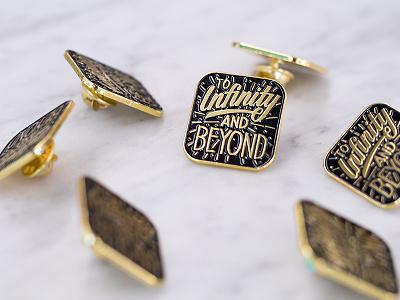 Enamel Pins lapel pin pin enamel handdrawn typography lettering branding hackathon