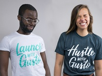 Launch with Gusto Shirts