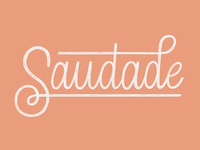 The 100 Day Project: Saudade